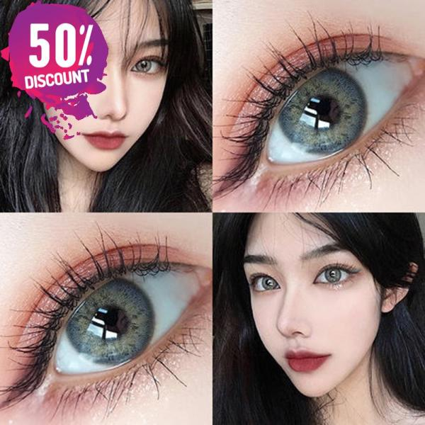 Blue Green Brown Grey Colored Eye Contact Lenses for Natural Look Eye Contact Lenses FREE SHIPPING 6