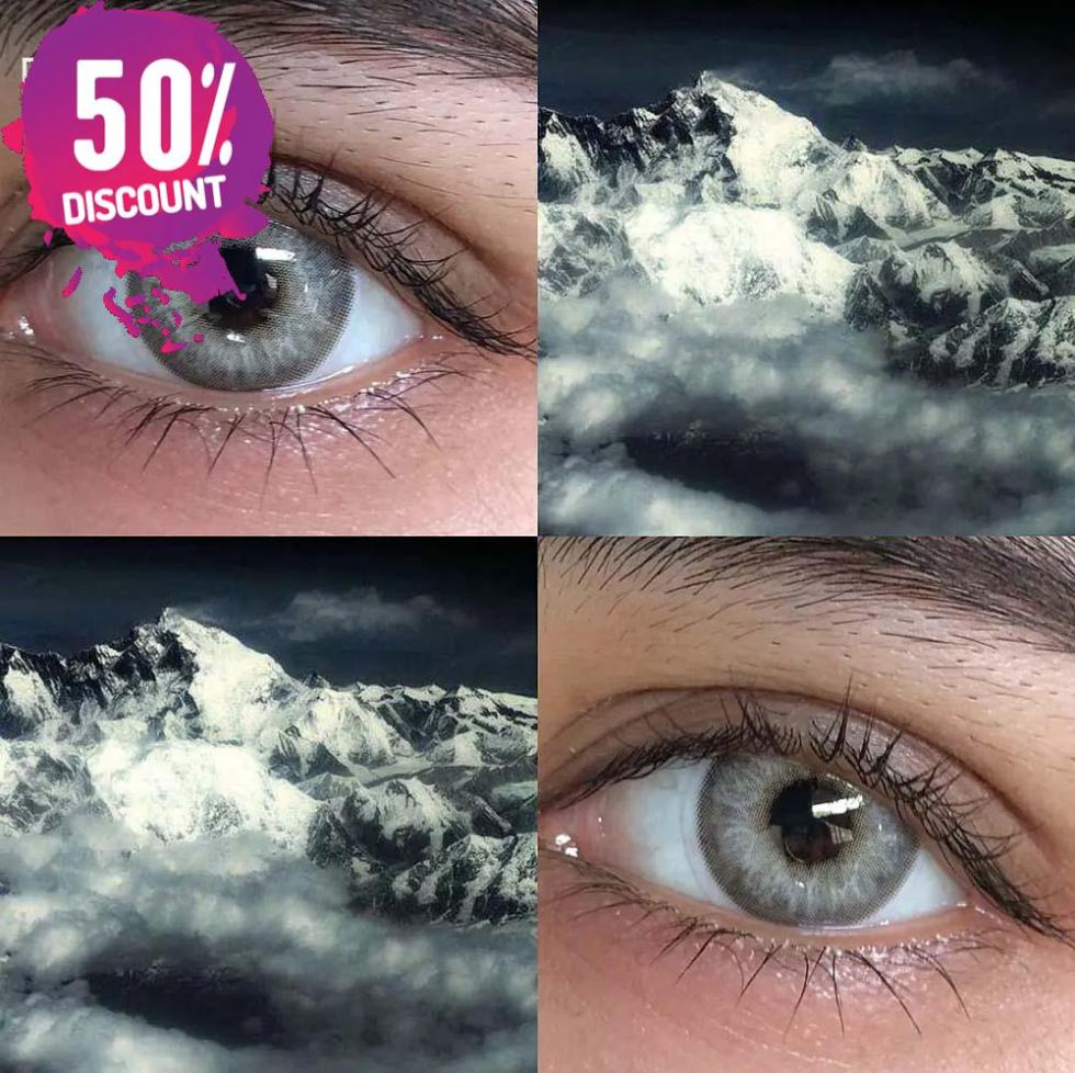 Blue Green Brown Grey Colored Eye Contact Lenses Color Contact for Natural Look