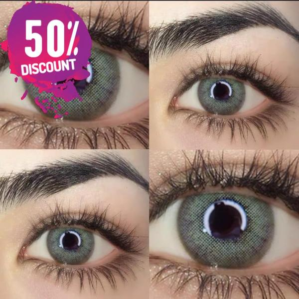 Russian Blue Taylor Blue Eye Contact Lenses For Blue Green Colored Eyes Eye Contact Lenses FREE SHIPPING 4