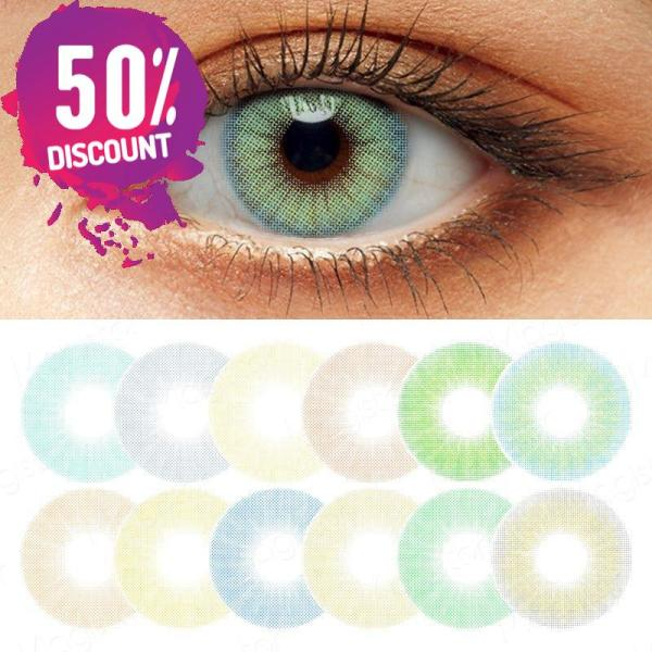 Queen Hidrocolor Colored Eye Contact Lenses-1 Year Use-Premium Quality Eye Contact Lenses FREE SHIPPING 3