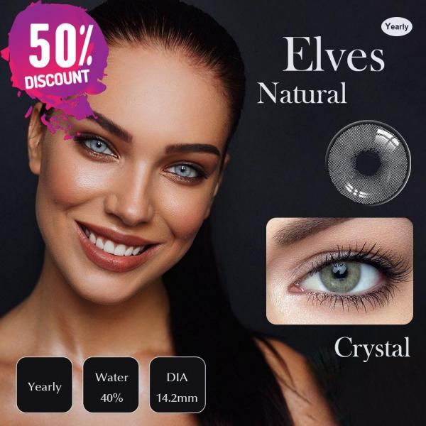 Catniss Grey Eye Contact Lenses For Crystal Natural Gray Colored Eyes Eye Contact Lenses FREE SHIPPING 3