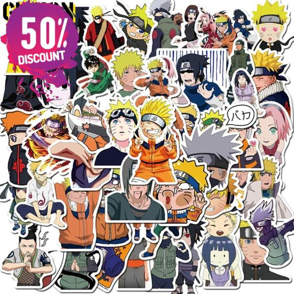 NARUTO Waterproof Stickers 10/30/50pcs/Pack Accessories FREE SHIPPING 3