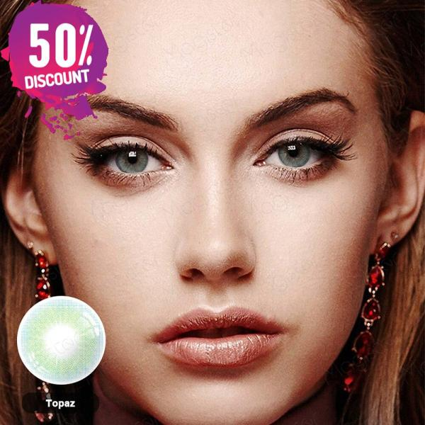 Queen Hidrocolor Colored Eye Contact Lenses-1 Year Use-Premium Quality Eye Contact Lenses FREE SHIPPING 7
