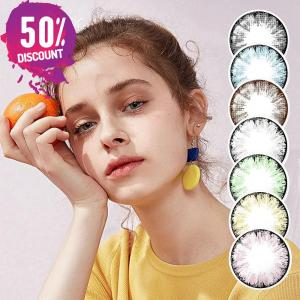 Glitter Colored Eye Contact Lenses for a Beautiful Sparkling Look-Premium Quality Eye Contact Lenses FREE SHIPPING