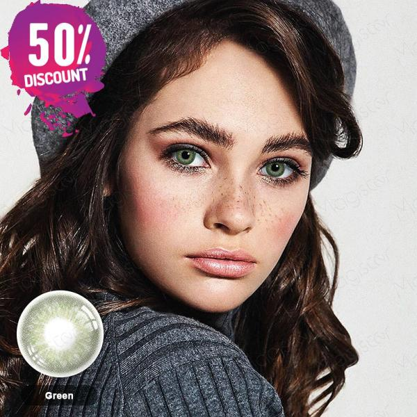 3 Tones Gleam Colored Eye Contact Lenses For a Soft Creamy Look Eye Contact Lenses FREE SHIPPING 6