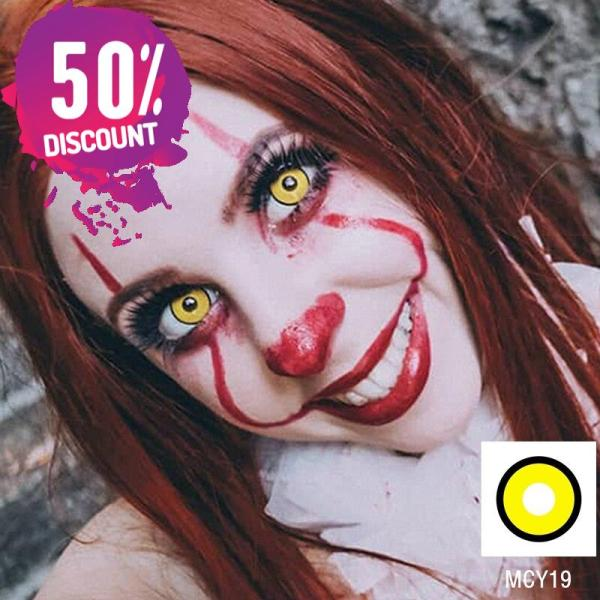 Cosplay Blackout Whiteout Contacts Halloween Eye Lenses-1 Year Use-Premium Quality Eye Contact Lenses FREE SHIPPING 6