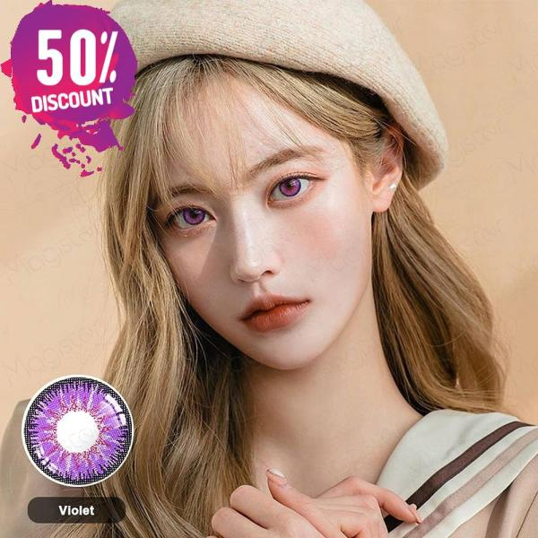 Radiant Bright Colored Eye Contact Lenses-7 Colors Available-1 Year Use-Premium Quality Eye Contact Lenses FREE SHIPPING 6