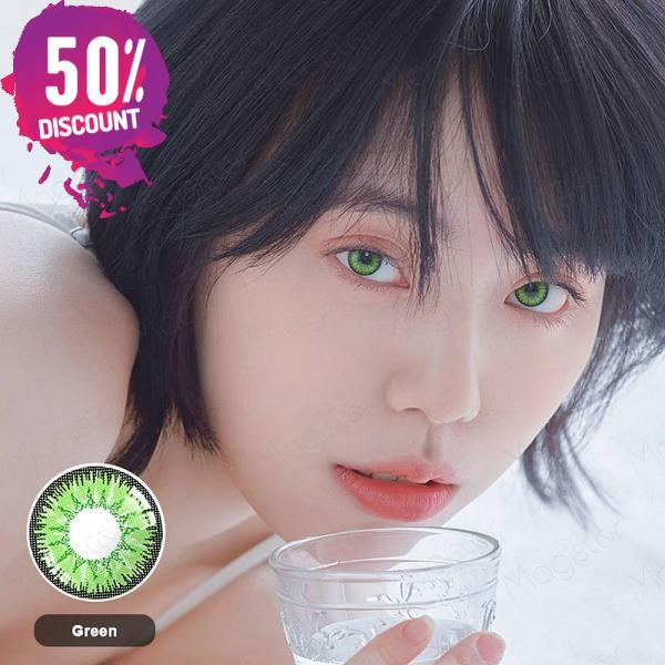 Radiant Bright Colored Eye Contact Lenses-7 Colors Available-1 Year Use-Premium Quality Eye Contact Lenses FREE SHIPPING 8