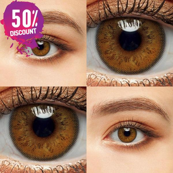 Delight Colored Eye Contact Lenses for a Sexy Beautiful Look Green Gray Blue Shades Eye Contact Lenses FREE SHIPPING 5