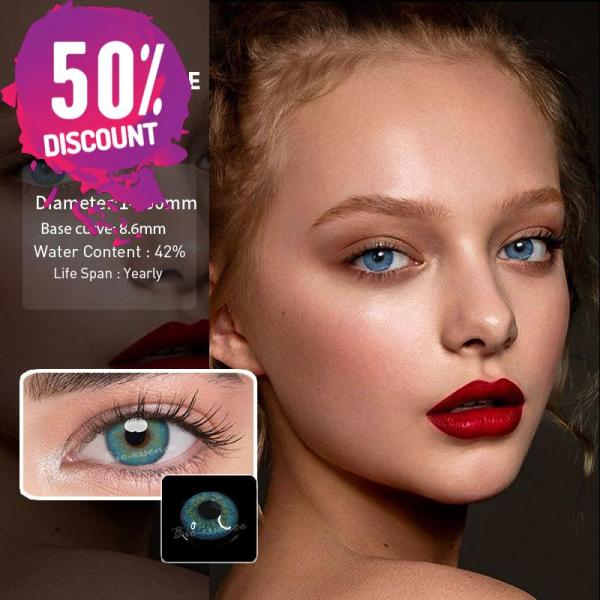 Prescription Colored Contacts For Myopia Russian Blue Brown Gray Eye Contact Lenses-1 Year Use Eye Contact Lenses FREE SHIPPING 5