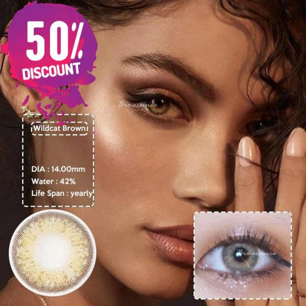Prescription Colored Contacts for Myopia Green Blue Brown Colored Eye Contact Lenses-1 Year Use Eye Contact Lenses FREE SHIPPING 5