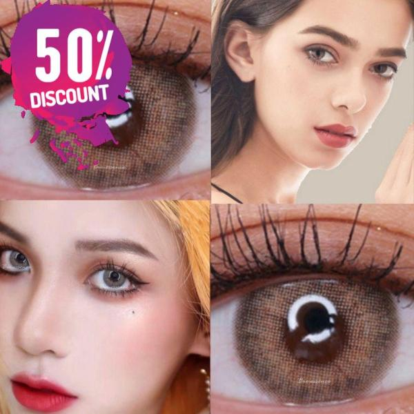 Prescription Colored Contacts for Myopia Green Blue Brown Colored Eye Contact Lenses-1 Year Use Eye Contact Lenses FREE SHIPPING 8