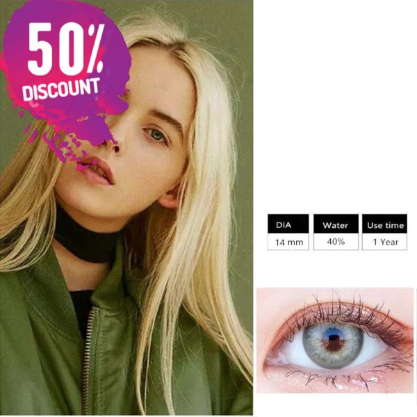 Himalayas Blue Green Shades Colored Eye Contact Lenses For Beautiful Ocean Blue Eyes Eye Contact Lenses FREE SHIPPING 7