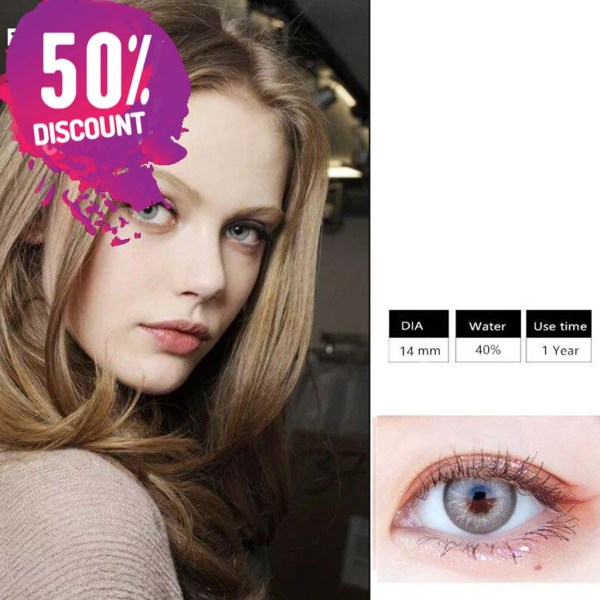 Himalayas Blue Green Shades Colored Eye Contact Lenses For Beautiful Ocean Blue Eyes Eye Contact Lenses FREE SHIPPING 8