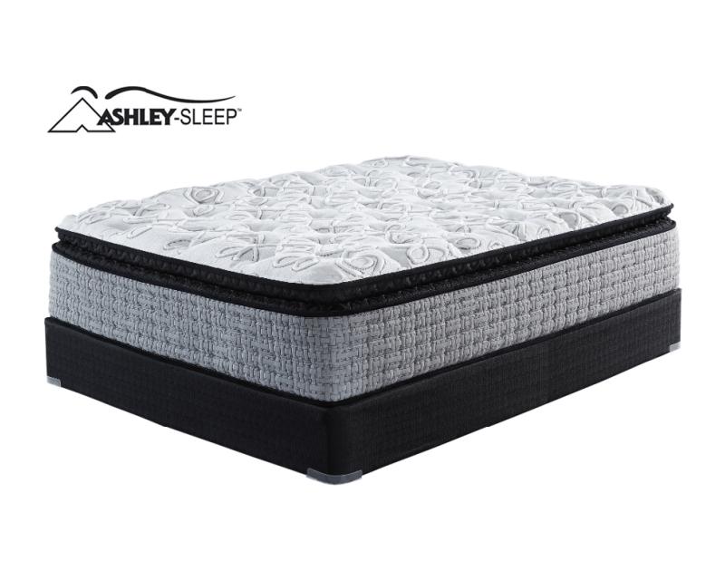 ashley sleep queen 16 mt rogers pillowtop mattress set