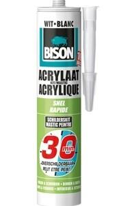 bison acrylaatkit 30 minuten wit koker 310 ml