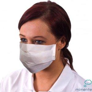 Mondkapje - Mondmasker - Wit - Papier - 100 stuks - Medische mondkapjes
