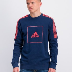 Adidas Performance, JB A AAC CREW, Blauw, Truien/cardigans till Jongens, 164 cm