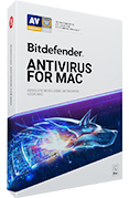Bitdefender Antivirus for Mac 2019 (3 apparaten, 1 Jaar)