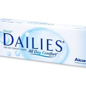 Focus Dailies All Day Comfort (30 lenzen)