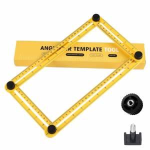 Hoekliniaal - Vierhoekig Meetinstrument - Multi-hoeklineaal - Duimstok