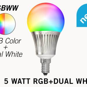 Mi·Light Mi-Light 5W RGB + Dual White E14 Wifi LED Lamp