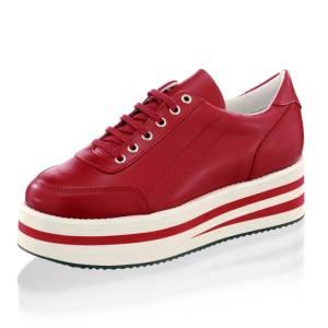 Sneaker Alba Moda Rood