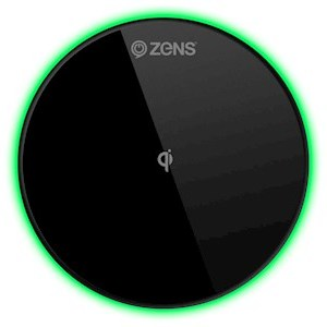 ZENS Qi Wireless Charger Round