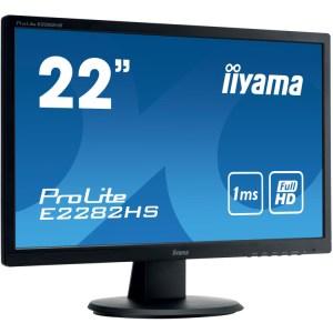 """iiyama ProLite E2282HS 21.5"""" Monitor DVI, HDMI, Audio"""