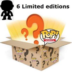 Funko Pop! Mystery Box - 6 stuks Gegarandeerde limited editions