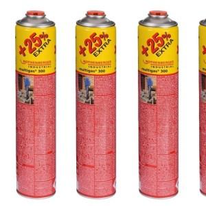 Rothenberger 5x Multigas 300 Jumbo - 600 ml
