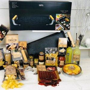 Kerstpakket Italiaans met Grill Bakplaat XXL (6 stuks)