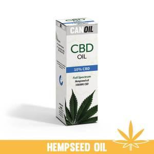 CBD Olie 10% (1000 MG) 10ML FS Hennepzaad Olie 0% THC