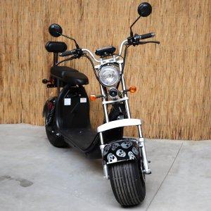 E-scooter FatBoy CityCoco Egreen 1500W BLUETOOTH KLEUR BLACK SKULL
