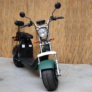 E-scooter FatBoy CityCoco Egreen | 1500W |BLUETOOTH | KLEUR MILITARY GREEN |