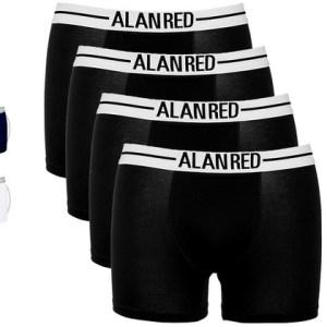 4x Alan Red Boxershort