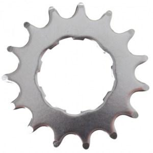 VWP tandwiel opsteek 14T 1/2 x 1/8 inch plat zilver