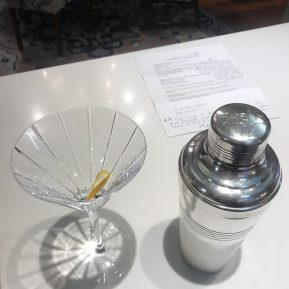 Our imported vintage cocktail shakers are made for martinis!