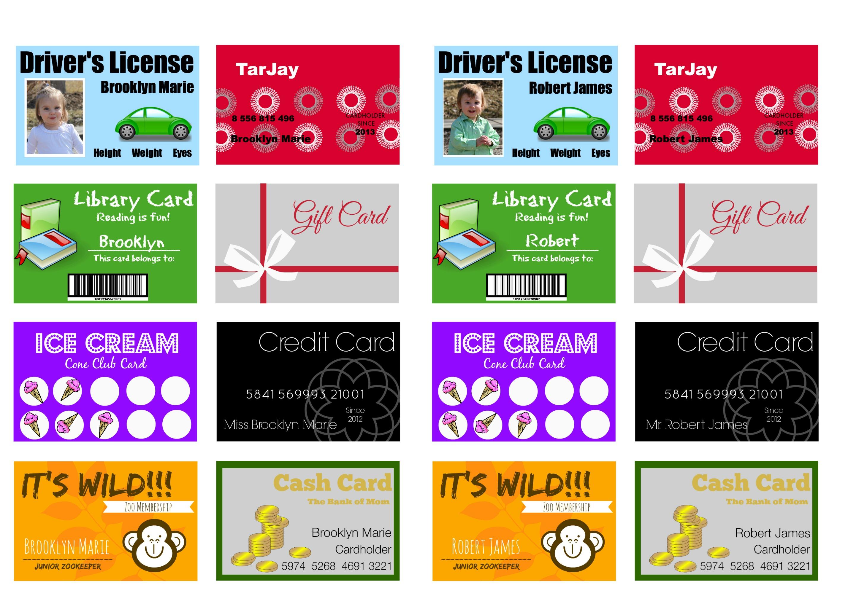 Customizable Cards Free Printable