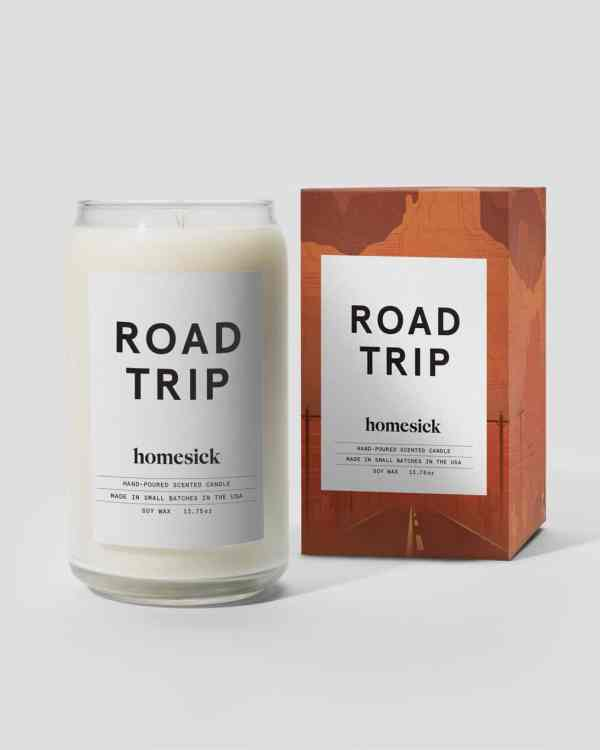 A photo of the Homesick Road Trip Candle