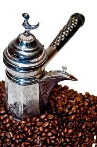 Ancient Turkish coffeemaker