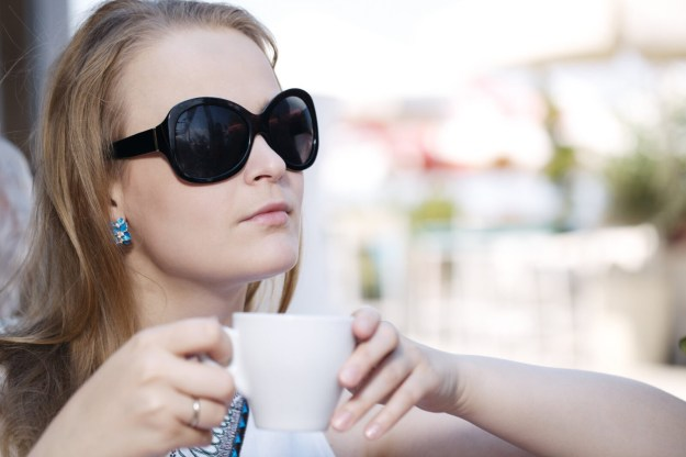 People drink coffee to both relax and to increase alertness. Maintain a good healthy balance.