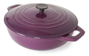 Spiceberry Enamel Casserole Dish