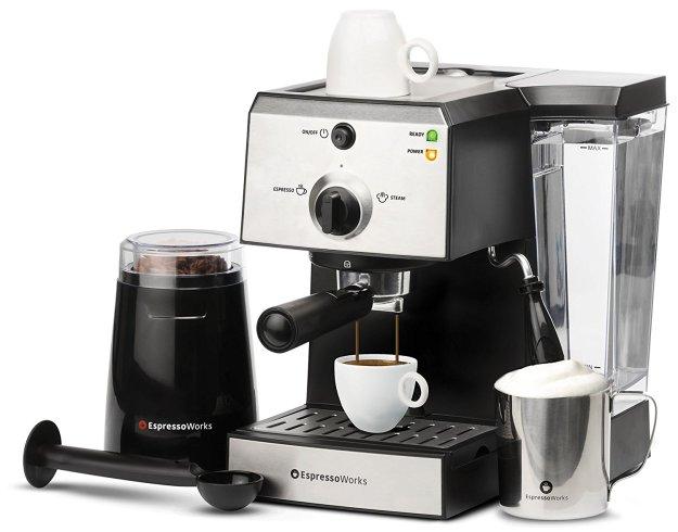 7 PC All in One Espresso Machine by Espresso Works