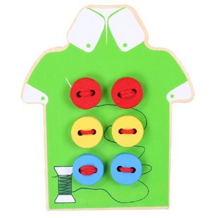 Montessori-Baby-Toys-2-Kinds-Wear-The-Button-Wooden-Toys-Educational-Threading-Board-Beaded-Blocks-hild