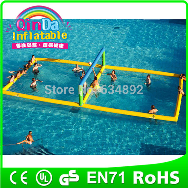 Water-Park-Hot-sale-inflatable-volleyball-court-inflatable-water-volleyball-court
