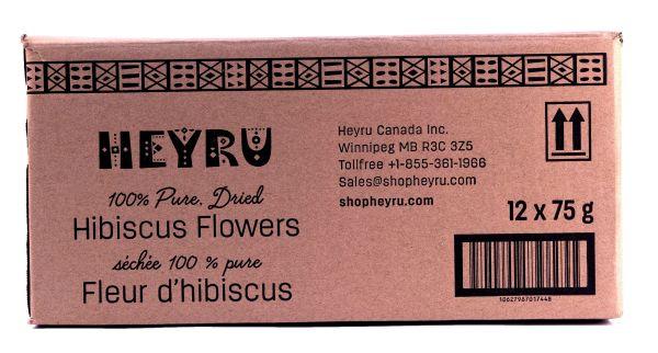 Hibiscus Flowers 75g H101