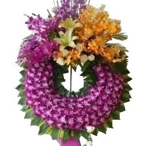 hoa chia buồn hcb 34