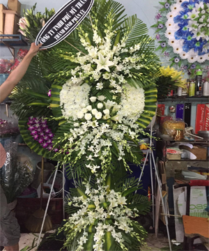hoa tang lễ quận 10
