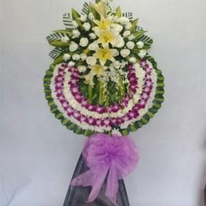 hoa chia buồn hcb 44